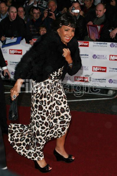 Shirley Bassey arriving at Pride of Britain Awards