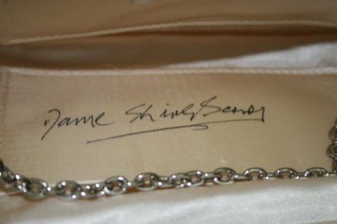 Signature inside bag