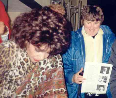 Jean with Dame Shirley