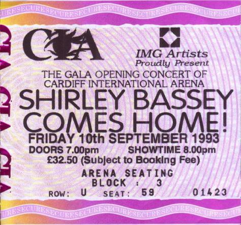 ticket CIA 1993