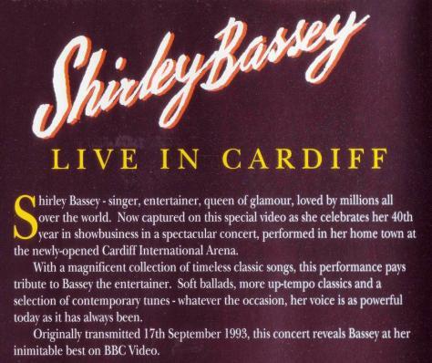 videocassette Cardiff 1993 CIA a