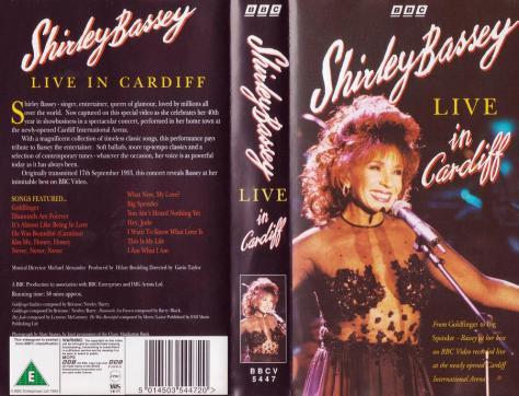 videocassette Cardiff 1993 CIA