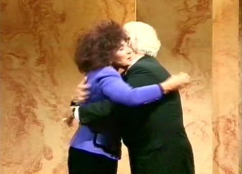 A hug!