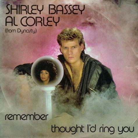 Shirley Bassey and Al Corley - Thought I'd Ring You