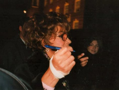 Shirley RVP 2000 Dominion Theatre stage door 2