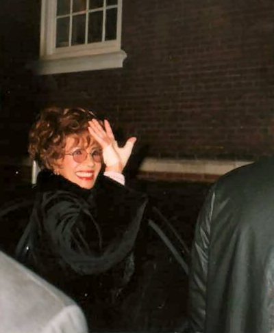 Shirley RVP 2000 Dominion Theatre stage door 3
