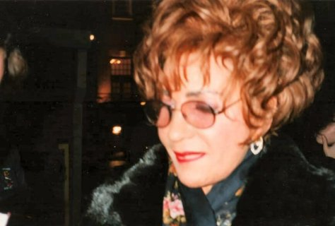 Shirley RVP 2000 Dominion Theatre stage door