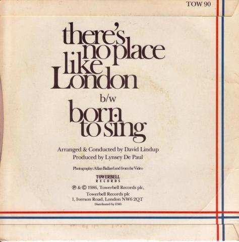 There's no place like London -cover-backside a