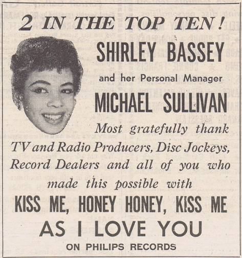 1959 AW NMEBassey23rdJan2