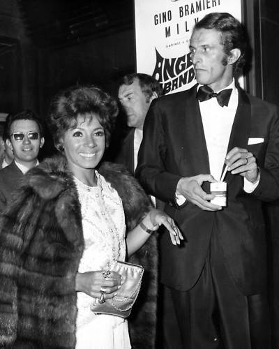 Shirley & Sergio at the Sivermask Awards in Rome 1969