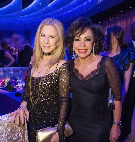 Barbra Streisand & Dame Shirley Bassey