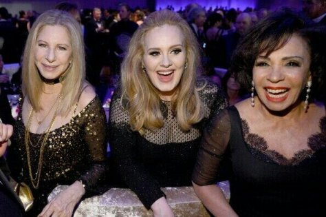 Barbra Streisand, Adele & Dame Shirley Bassey