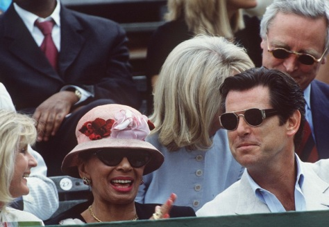 DSB with Liz Brewer & Pierce Brosnan in London 1997