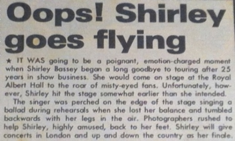 1978 07 20 Australian Post a Oops! Shirley goes flying