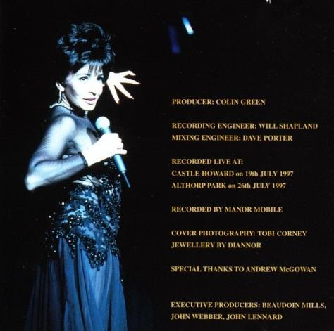 Birthday Concert credits