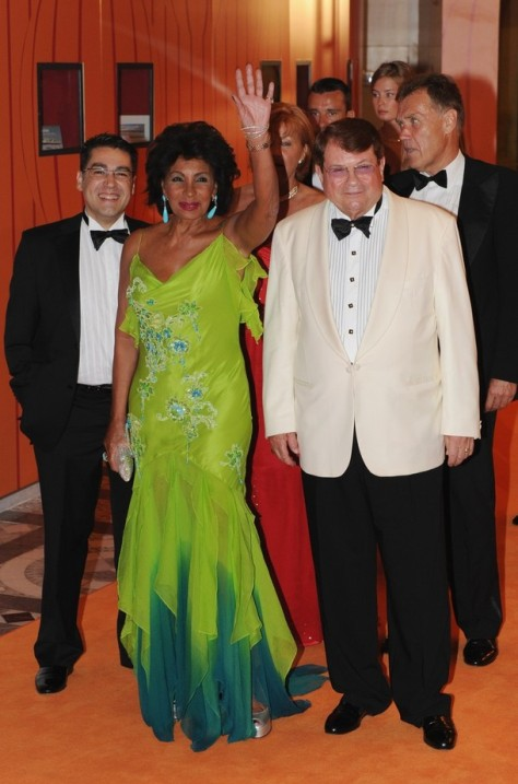 DSB at the Monaco Red Cross Ball at the Monaco Sporting Club