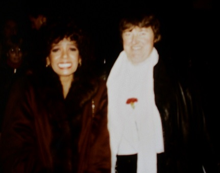 Dame Shirley Bassey and Jean