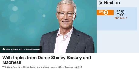 Paul O Grady - BBC Radio Two