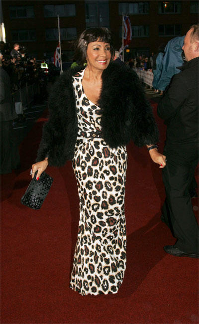 SHIRLEY BASSEY. PRIDE OF BRITAIN AWARDS 2008. Picture by TIM ANDERSON