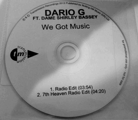 Promotional CD for We Got Music by Transmission Recordings