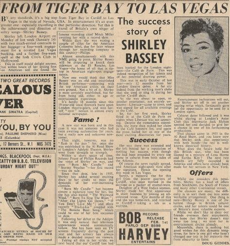 1957 AJ NMEBassey25thJan (blog)