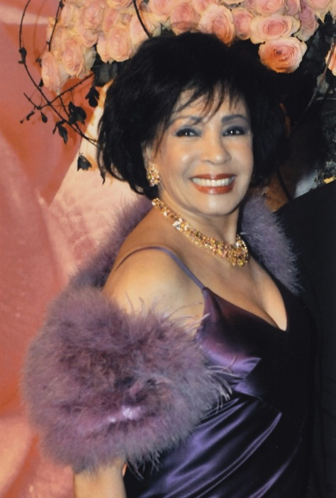 Dame Shirley Bassey at the Monaco Ball in 2008