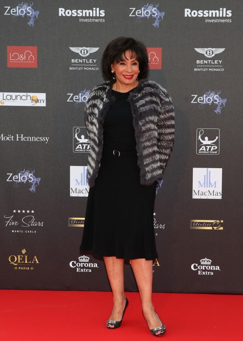 Shirley Bassey at ATP Masters Series Monte Carlo Rolex Masters