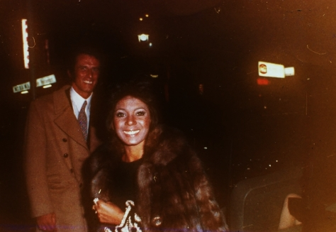 Sergio and Shirley in exile in Switzerland