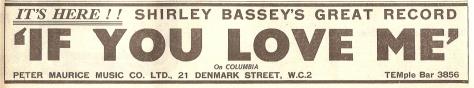 1959 BG NMEBassey25thSept2