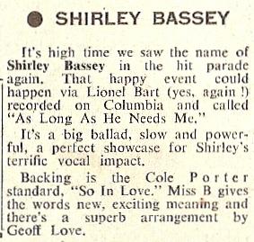 1960 V NMEBassey8thJuly