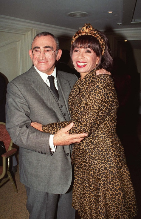 Dame Shirley Bassey and Lionel Bart