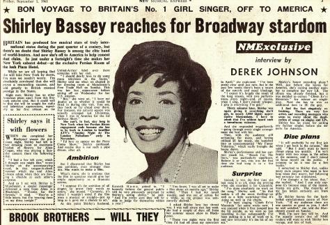 1961 AC NMEBassey1stSept
