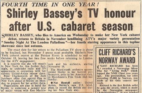 1961 AD NMEBassey1stSept2