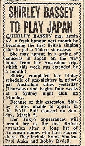 1961 BB NMEBassey17thFeb
