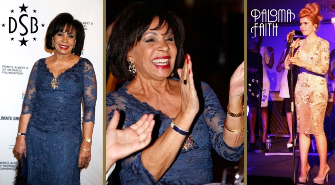 Photos of Dame Shirley Bassey and Paloma Faith from March in Monaco!
