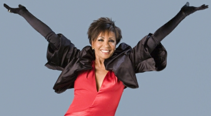 Emma Samms Gets BBC One Acrobatic Party Started With Dame Shirley Bassey!