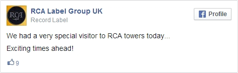 RCA UK Facebook
