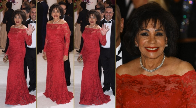 New Photos: Dame Shirley Bassey @ Red Cross Gala