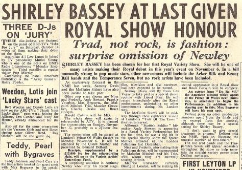 1961 AL NMEBassey6thoct