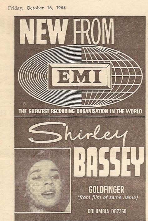 1964 CL NMEBassey16thOct2