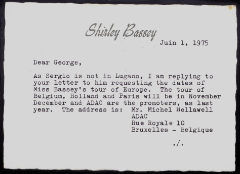 1975 Letter to George 1