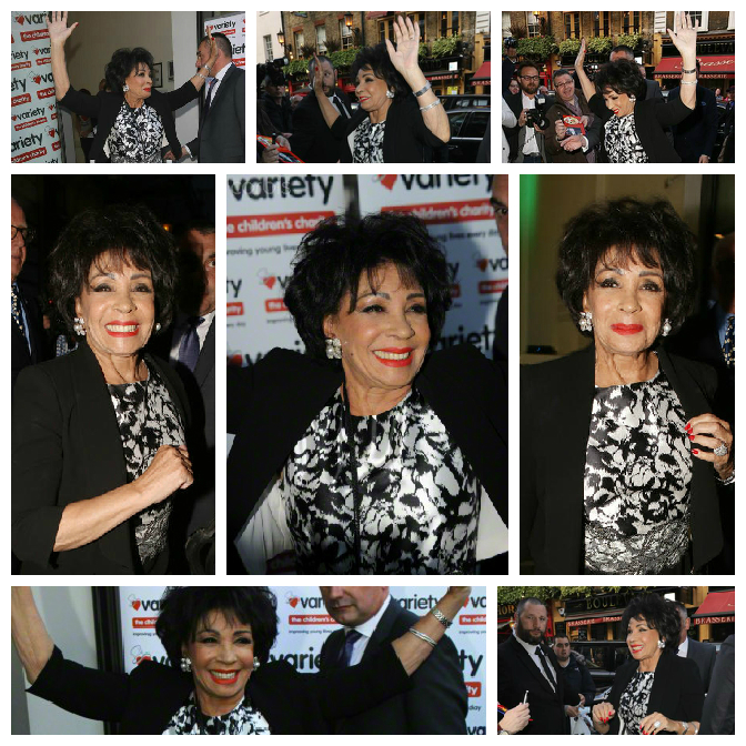 Star Dame Shirley Bassey Shooting High at London Charity Book Launch