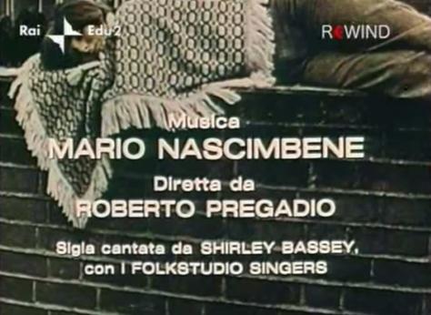 """Song credits from """"la lotta dell'uomo per la sua sopravvivenza"""""""