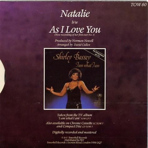 natalie as i love you 1984 - reverse