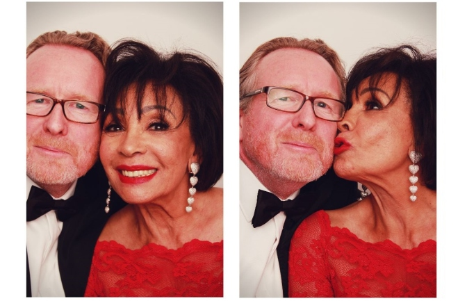 #SeeTheNeed Alistair Morrison's Photo Booth Experience with Dame Shirley