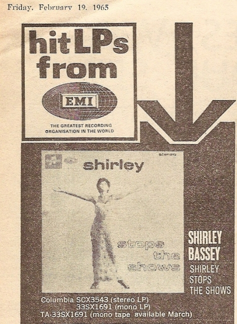 1965 BQ NMEBassey19thFeb