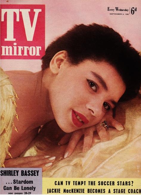 1956 09 08 Tv Mirror Cover girl