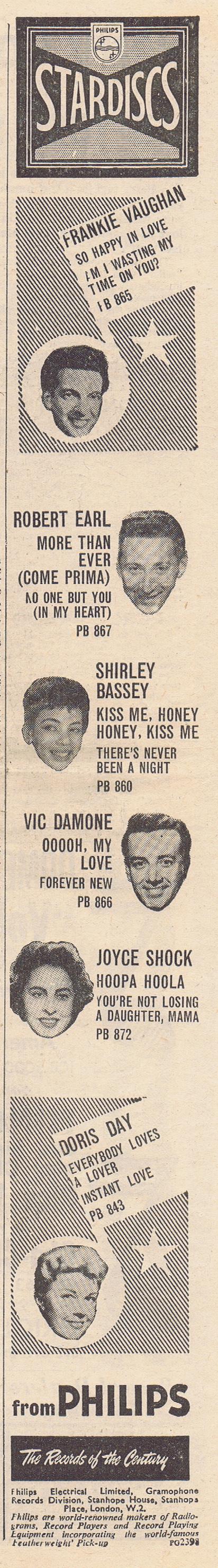 1958 AA NMEBassey24thOct