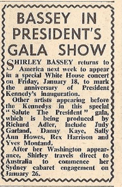 1963 BG NMEBassey11thJan