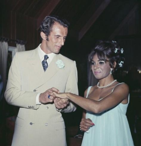 1968 wedding